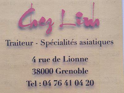 Inauguration du restaurant Chez Linh à Grenoble