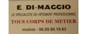 Di-Maggio Vêtements de cuisine