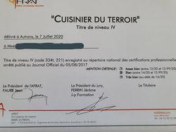 Jury pour le brevet pro Cuisine du Terroir à Autrans